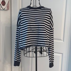 Missguided Striped Top